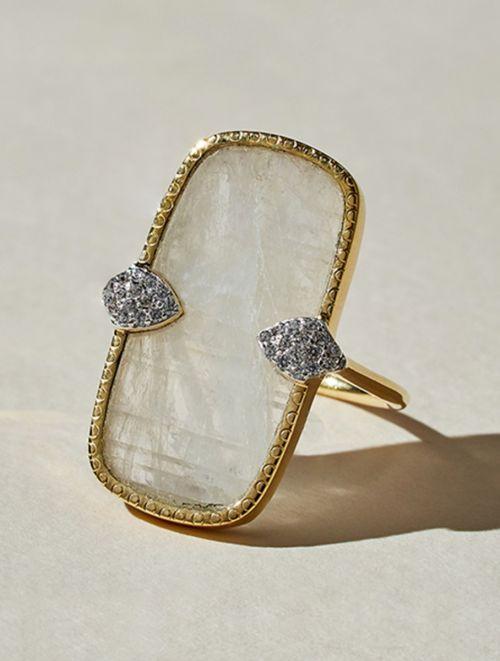 Sangha Ring - Moonstone