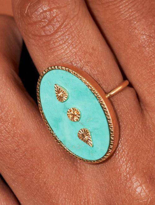 Bague Lana - Turquoise