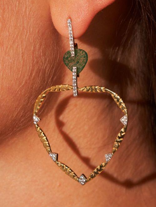 Boucles d'oreilles Lima - Aventurine