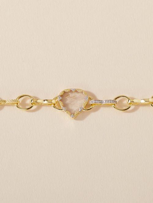 Bracelet Lima - Rutile Doré