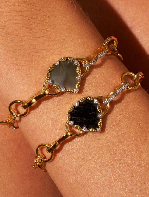 Bracelet Lima - Onyx Texturé