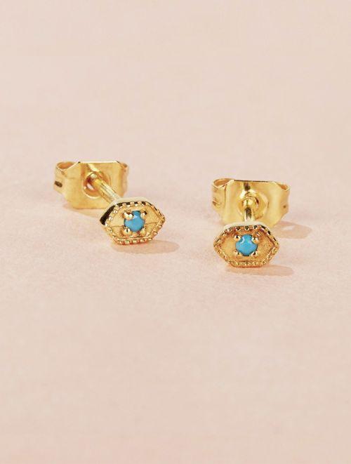 Tara Earrings - Turquoise
