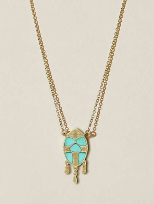 Collier Mina - Turquoise