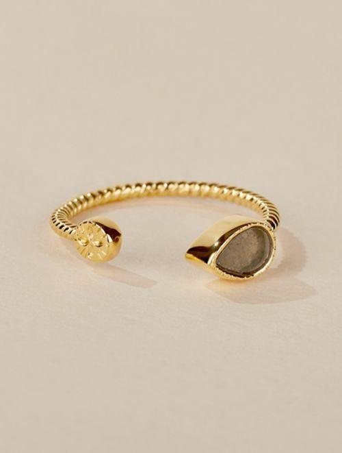 Bali Ring - Pyrite