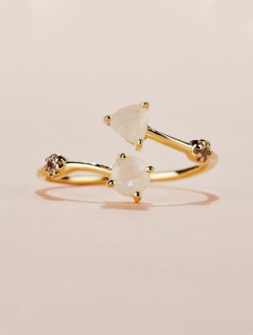 Galia Ring - Moonstone