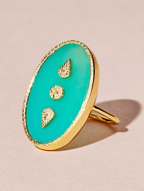Lana Ring - Chrysoprase