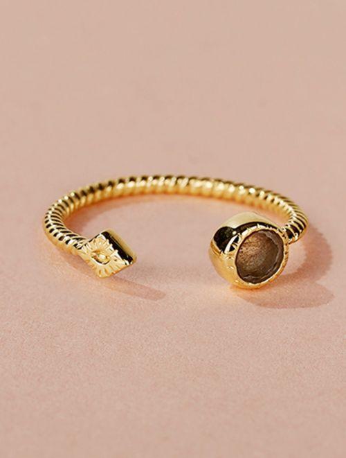 Livy Ring - Labradorite
