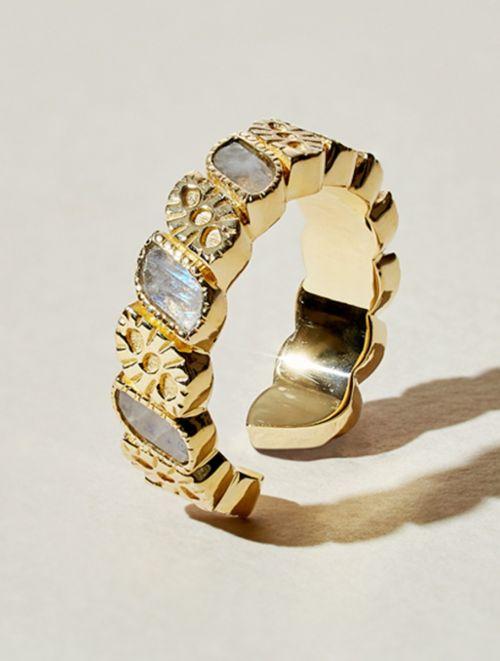 Mali Ring - Moonstone