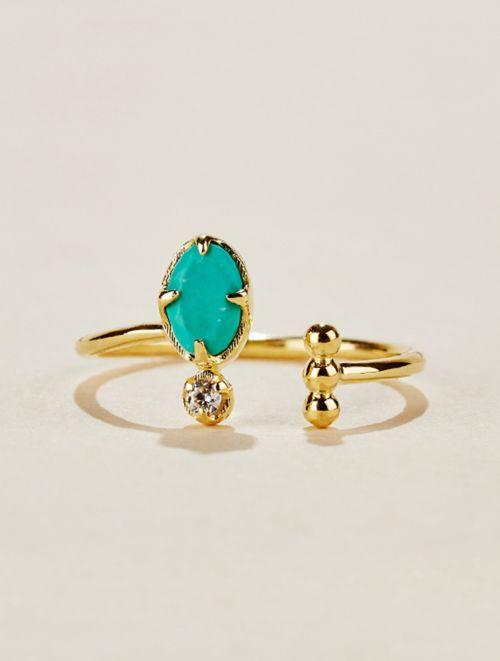 Bague Mani - Turquoise
