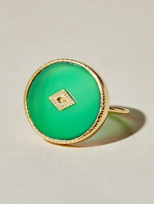 Sanja Ring - Chrysoprase