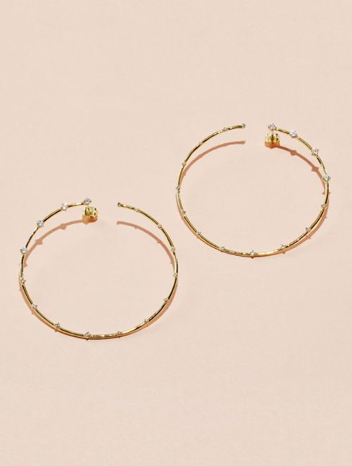 Boucles d'oreilles Jamini - Zircon Blanc