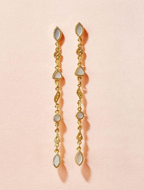 Macha Earrings - Mother of Pearl