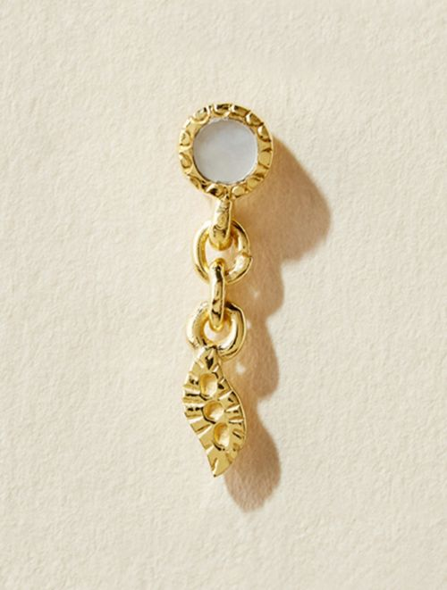 Mali Single Earring - Mother of Pearl