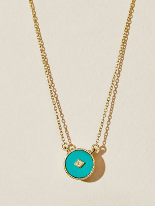 Sanja Necklace - Turquoise