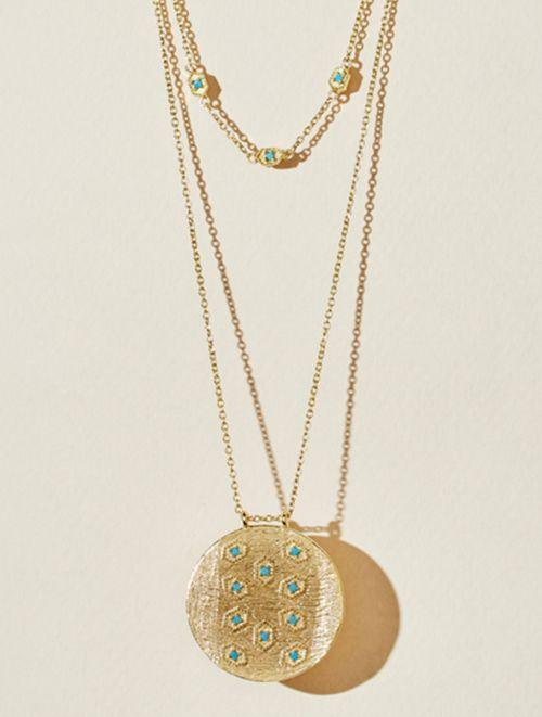 Collier Tara - Turquoise
