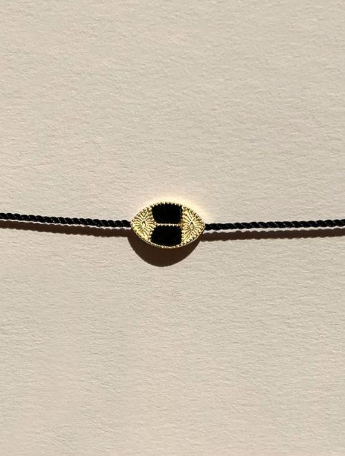Bracelet Mina - Onyx Texturé