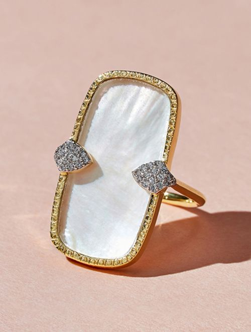 Sangha Ring - Mother of Pearl