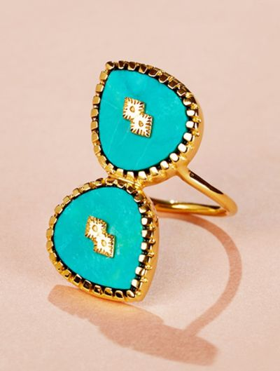 Oma Ring - Turquoise
