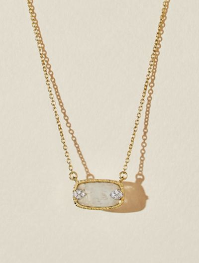 Sangha Necklace - Moonstone