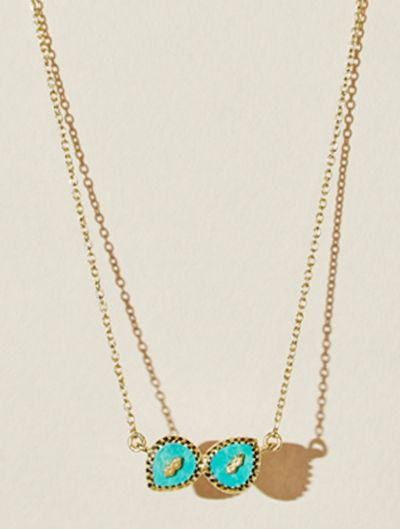 Oma Necklace - Turquoise