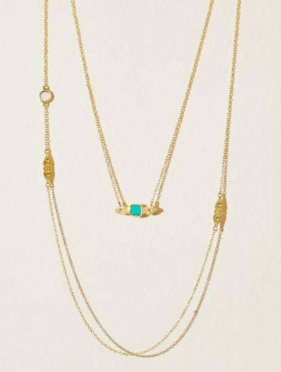 Collier Nati - Turquoise et Nacre