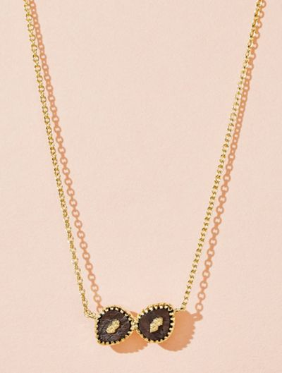 Oma Necklace - Textured Onyx