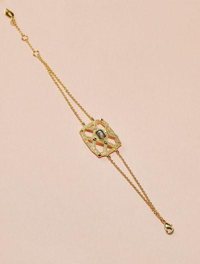 Bracelet Saba - Labradorite