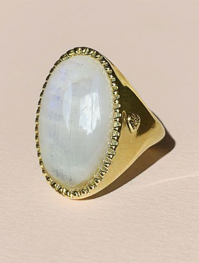 Eila Ring - Moonstone