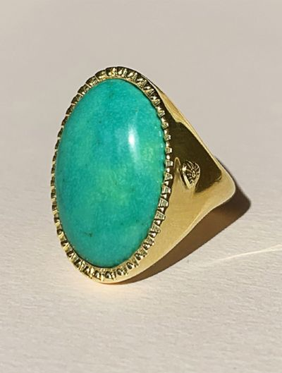 Eila Ring - Turquoise