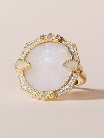 Janih Ring - Moonstone