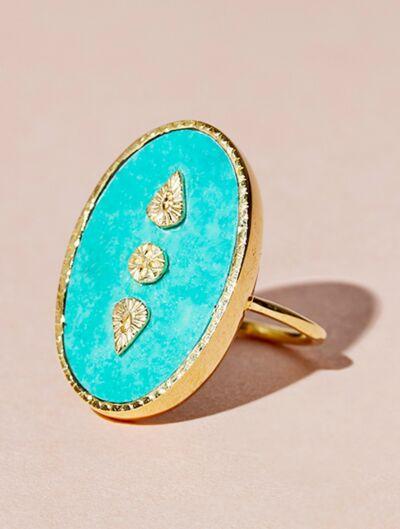 Lana Ring - Turquoise