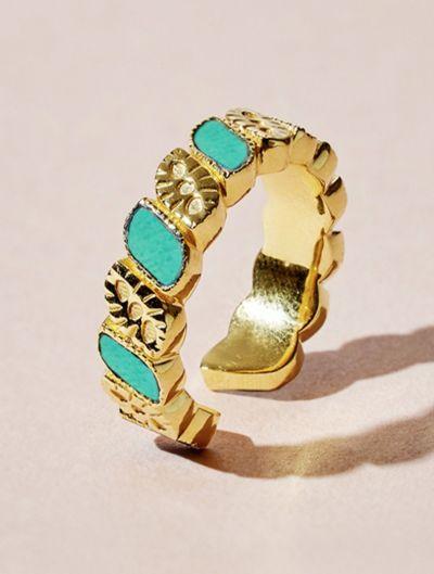 Bague Mali - Turquoise