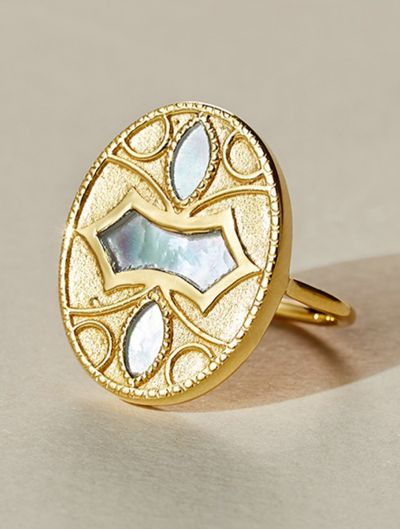 Marala Ring - Mother of Pearl