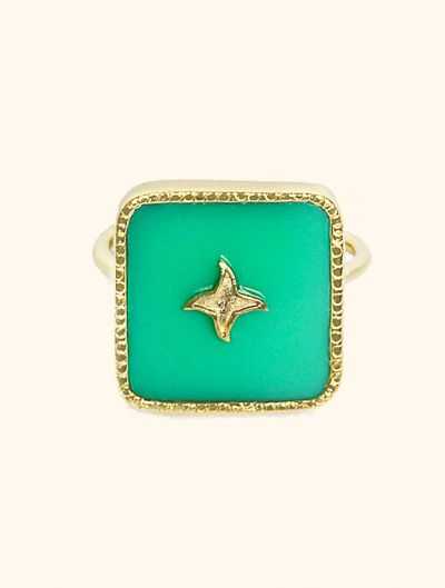 Meruba Ring - Chrysoprase