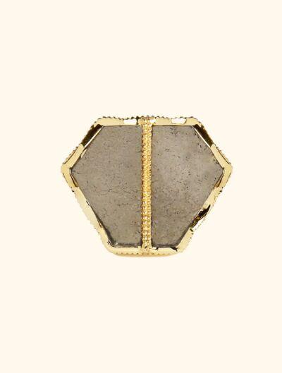 Bague Nemara - Pyrite