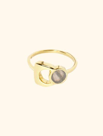 Roka Ring - Labradorite
