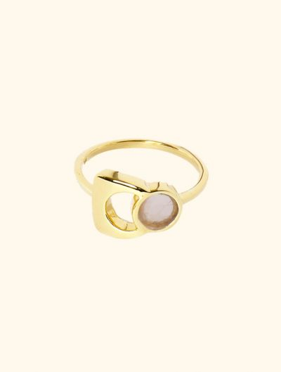 Bague Roka - Quartz Rose