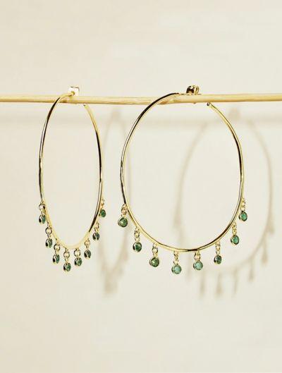 Kali Earrings - Aventurine