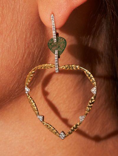 Lima Earrings - Aventurine