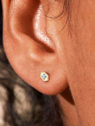 Boucles d'oreilles Tara - Turquoise