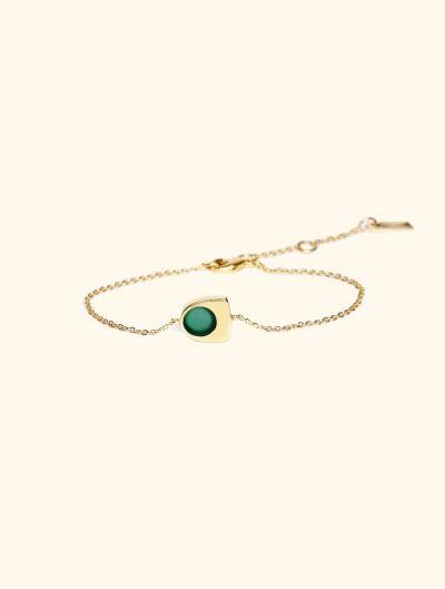 Roka Bracelet - Green Onyx