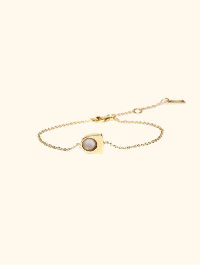 Bracelet Roka - Quartz Rose