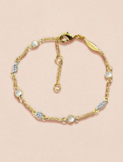 Sitara Bracelet - White Zircons