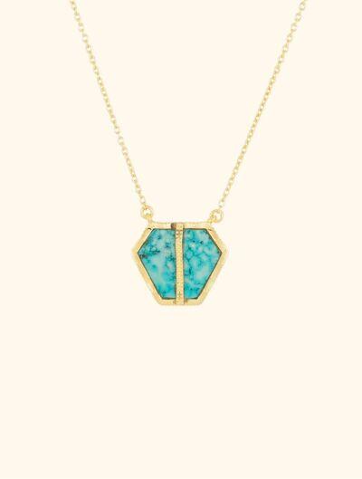 Collier Nemara - Turquoise