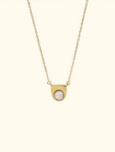 Collier Roka - Quartz Rose