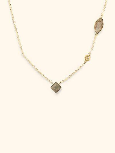 Collier Shayan - Pyrite