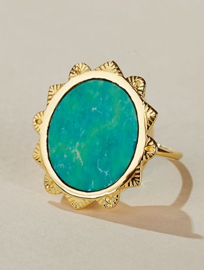 Bague Malka - Turquoise