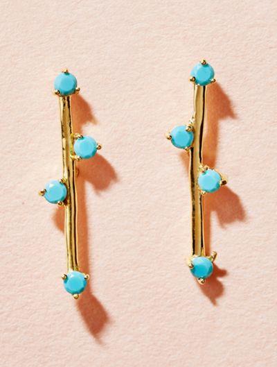 Boucles d'oreilles Delia - Turquoise
