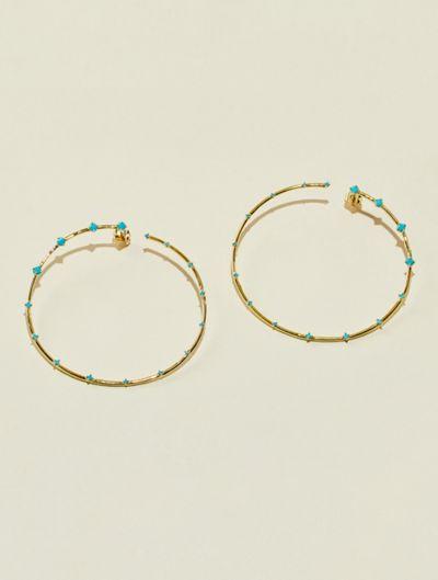 Jamini Earrings - Turquoise