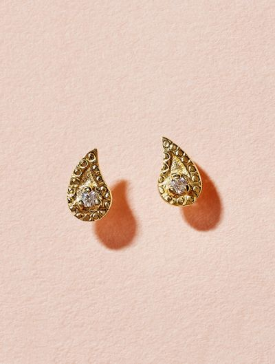 Boucles d'oreilles Livna - Zircon Blanc